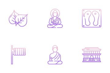 Buddhism Icon Pack