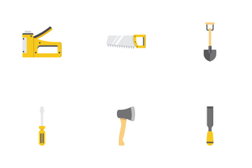 Build & Repair Flat Icons Icon Pack