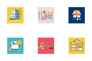 Building And Construction 2 Icon Pack
