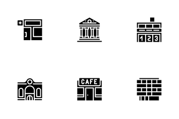 Building Architecture Icon Pack