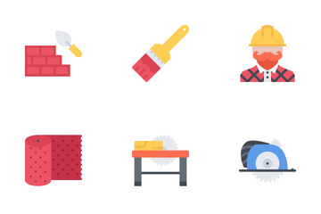 Building Flat Icon Pack