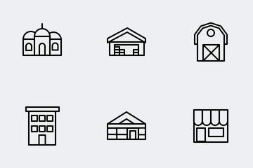 Building Icon Icon Pack