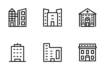 Buildings 2 Icon Pack