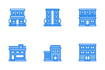 Buildings Icon Pack