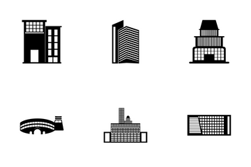 Buildings Pack Icon Pack