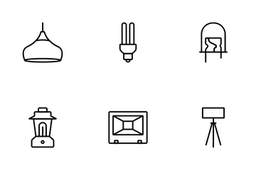 Bulb Types Icon Pack