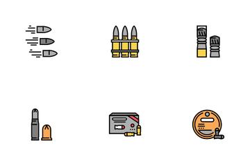 Bullet Ammunition Icon Pack