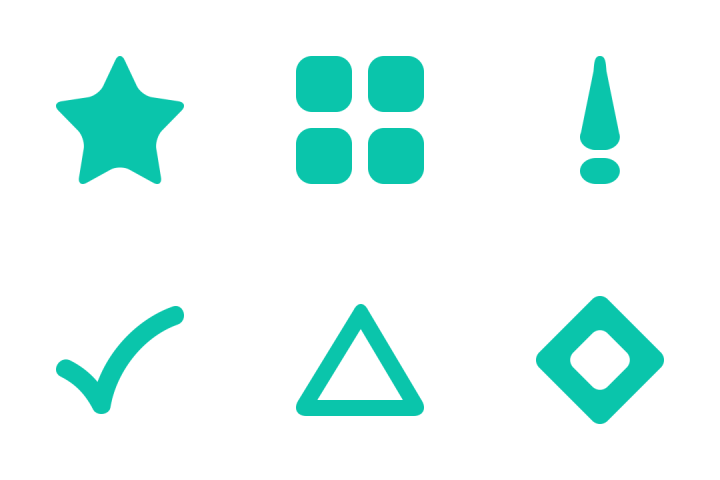 premium bullet points icon pack download in svg png eps ai ico