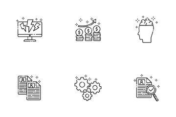 Outline Business Icon Pack