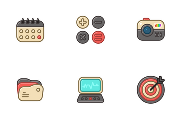 Cute Business Icon Pack