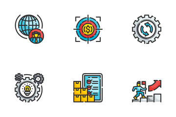 Business Administration Icon Pack
