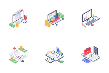 Business Analytics Icon Pack