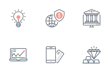 Business And Banking Icon Pack