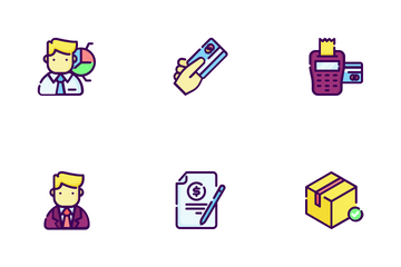 Business And Ecommerce Icon Pack