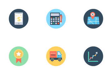 Business And Finance 2 Icon Pack