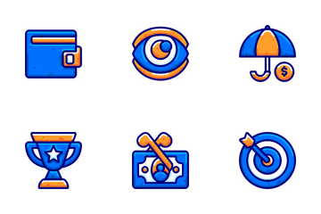 Business And Finance - Bubble Vol1 Icon Pack