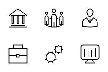 Business And Finance Icons Icon Pack