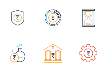 Business And Finance Line Icon Pack