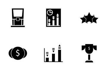 Business And Finance Office Icon Pack