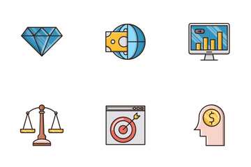 Business And Finance Vol.1 Icon Pack