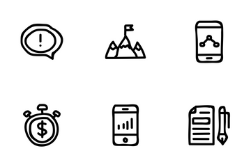 Business And Finance Vol 4 Icon Pack