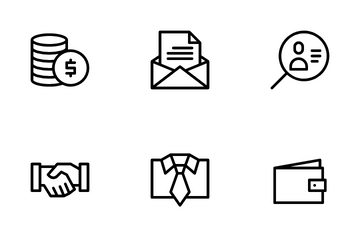 Business And Financial Icon Pack