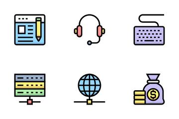 Business And Financial Vol 28 Icon Pack