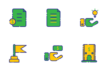 Business And Investments Icon Pack