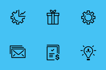 Business And Managemant Icon Pack