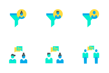 Business And Management Vol - 1 Icon Pack