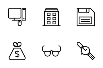 Business And Office 5 Icon Pack