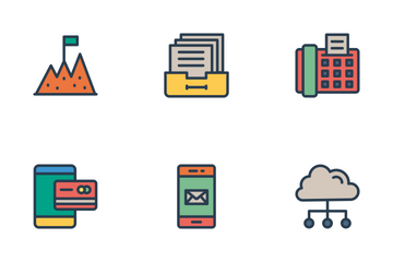Business And Office Vol 3 Icon Pack