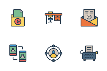 Business And Office Vol 4 Icon Pack