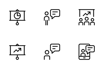 Business And Presentation Icon Pack