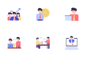 Business And Project Management Icon Pack