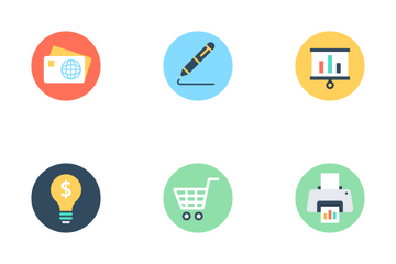 Business And SEO 1 Icon Pack