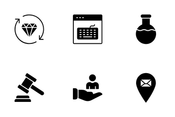 Business And Technology  VOL 3 Icon Pack