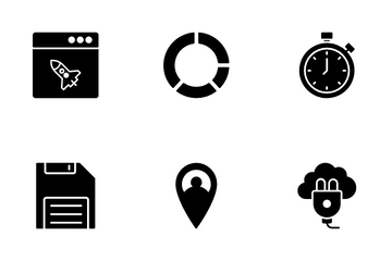 Business And Technology  VOL 4 Icon Pack