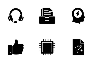 Business And Technology VOL 5 Icon Pack