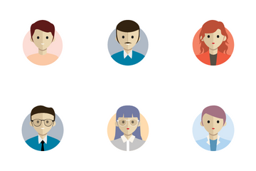 Business Avatar Icon Pack