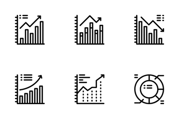 Business Chart And Diagram Icon Pack