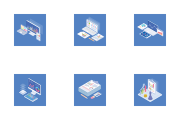 Business Charts Icon Pack