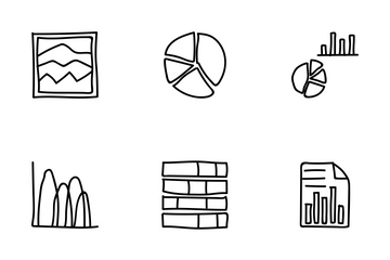 Business Charts And Diagrams Icon Pack