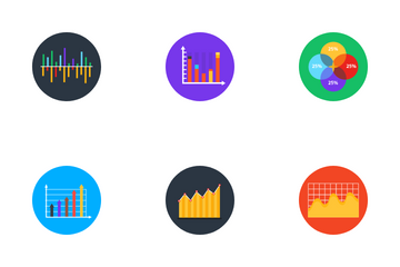 Business Charts & Graphs Icon Pack