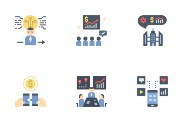 Business Collaboration Icon Pack