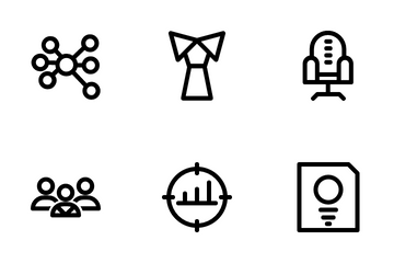 Business Company Icon Pack