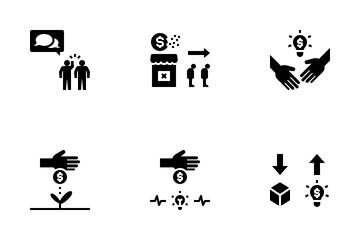 Business Competition Icon Pack