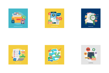 Business Concept Icon Pack