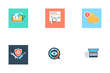 Business Concepts 3 Icon Pack