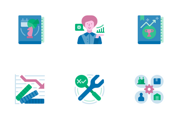 Business Continuity Plan Icon Pack
